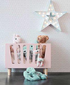 Puppenbett in grau auf mina-lola.com von done by deer