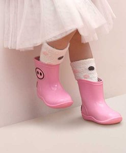 Gummistiefel KAWAI pink auf mina-lola.com von Boxbo