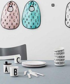 Melamin Schale Buchstaben auf mina-lola.com von Design Letters
