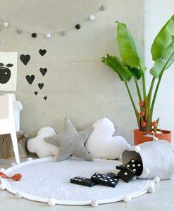 Teppich Bubble light grey auf mina-lola.com von Lorena Canals