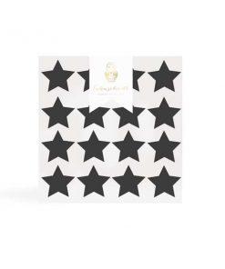 Wandsticker Sterne schwarz auf mina-lola.com von Eulenschnitt