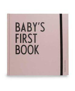 Baby's First Book rosa auf mina-lola.com von Design Letters