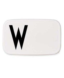Lunchbox W auf mina-lola.com von Design Letters
