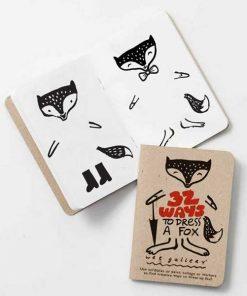 Activity Book 32 ways dress up fox auf mina-lola.com