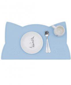 Platzset CAT powder blue auf mina-lola.com von we might be tiny