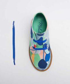 Bunte Schuhbänder auf mina-lola.com von Melula