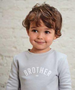Sweater BROTHER grau auf mina-lola.com von Bob&Blossom