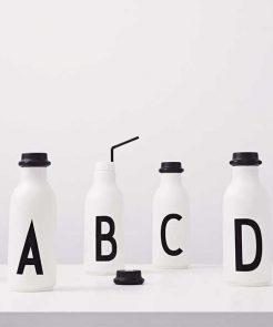 Trinkflasche A bis O auf mina-lola.com von Design Letters