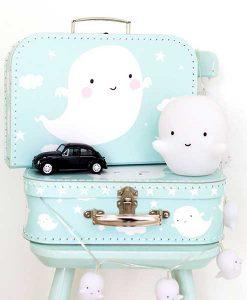Suitcase Ghost auf mina-lola.com von a little lovely company