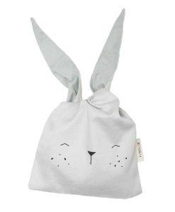 Lunchbag Bunny ice grey auf mina-lola.com von Fabelab