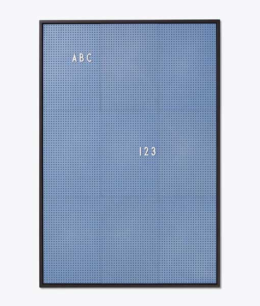 Message board blue A2 auf mina-lola.com von Design Letters