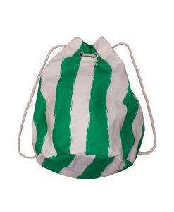 Sea Sack green stripes auf mina-lola.com von Noé & Zoë