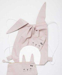 Rucksack Cute Bunny auf mina-lola.com von Fabelab