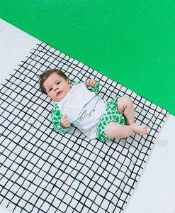 Baby Swim Top green croco auf mina-lola.com von Noé & Zoë