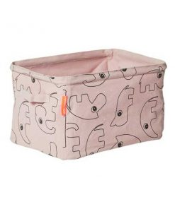 Soft Aufbewahrungsbox rosa auf mina-lola.com von done by deer
