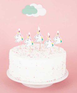 8 Kerzen Unicorn auf mina-lola.com von my little day
