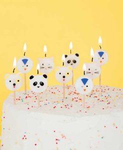 Kerzen animals auf mina-lola.com von my little day