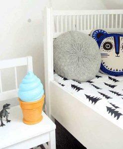 Ice cream Light blau auf mina-lola.com von A little lovely company