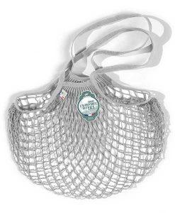 Net bag hellgrau Large auf www.mina-lola.com von filt