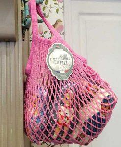 Net bag rose sorbet auf www.mina-lola.com von filt