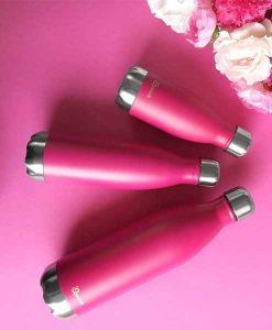 Qwetch Thermosflasche Nomade rosa auf mina-lola.com