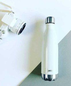 Qwetch Thermosflasche weiß auf mina-lola.com