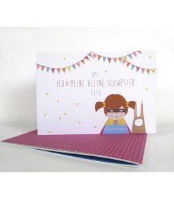 """Buch """"Ich & meine kleine Schwester"""" auf mina-lola.com von Ava & Yves"""