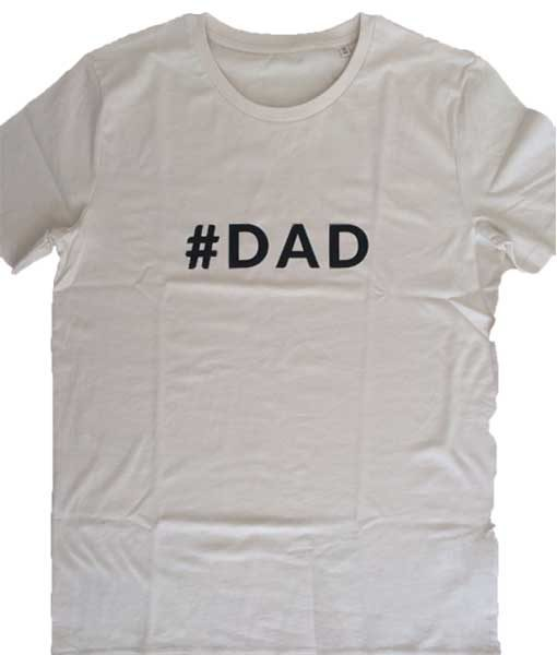 T-Shirt #DAD creme auf mina-lola.com