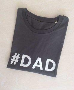 T-Shirt #DAD grau auf mina-lola.com