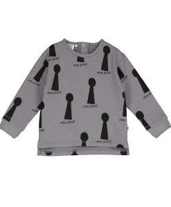 Baby Sweater Keyholes BEAU LOVE auf mina-lola.com