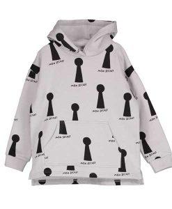 Hoodie Sweater Keyholes BEAU LOVE auf mina-lola.com