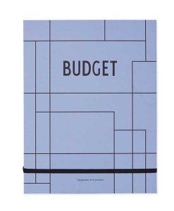 Budget Buch von Design Letters auf mina-lola.com
