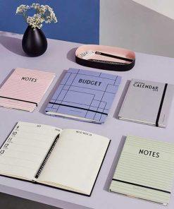 Notizbuch Mint Grün von Design Letters auf mina-lola.com