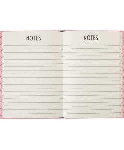 Notizbuch Rosa von Design Letters auf mina-lola.com
