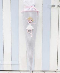 Schultüte Ballerina auf mina-lola.com von reuberkind