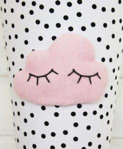 Schultüte WOLKE rosa auf mina-lola.com von reuberkind