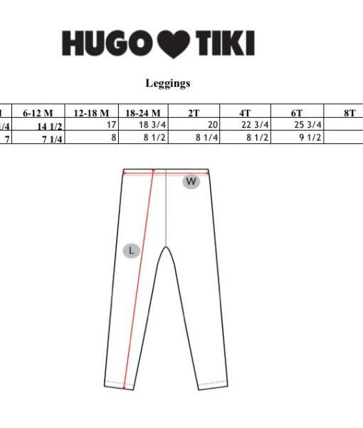 Size chart auf mina-lola.com von Hugo loves Tiki