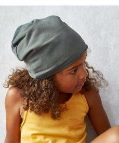 Beanie Taupe auf mina-lola.com von Little Hedonist