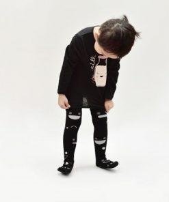 Kniestrümpfe Wistiti black auf mina-lola.com von Boxbo