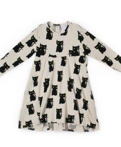 Dress Longsleeve MAGIC CAT auf mina-lola.com von LMH