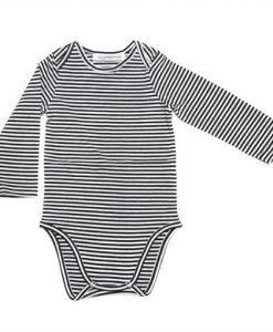 Langarmbody Striped von Mingo auf mina-lola.com