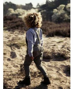 Latzhose Salopette von Little Hedonist auf mina-lola.com