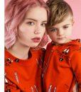 Sweater Red Bunny auf mina-lola.com von Hugo loves Tiki