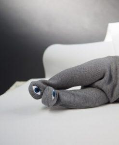 Romper Knit grau von Mini Silbing auf mina-lola.com