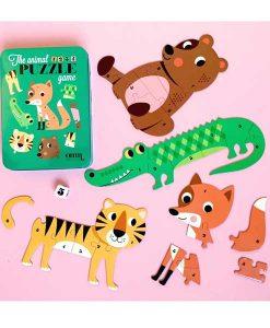 Animal Puzzle Spiel von Omm Design auf mina-lola.com