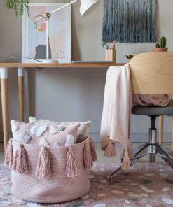 Korb Tassels Vintage Nude auf mina-lola.com von Lorena Canals