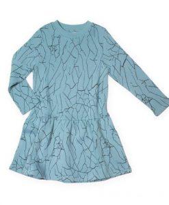 Dress Cracked Wall Blue auf mina-lola.com von Little Man Happy