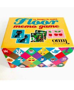 Memory Spiel Floor Square von Omm Design auf mina-lola.com