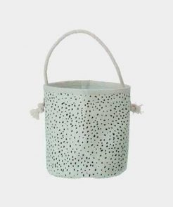 Mini Dot Basket in Mint auf mina-lola.com von ferm living