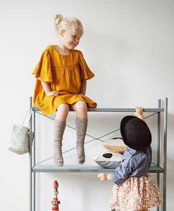 Mini Dot Basket mint auf mina-lola.com von ferm living